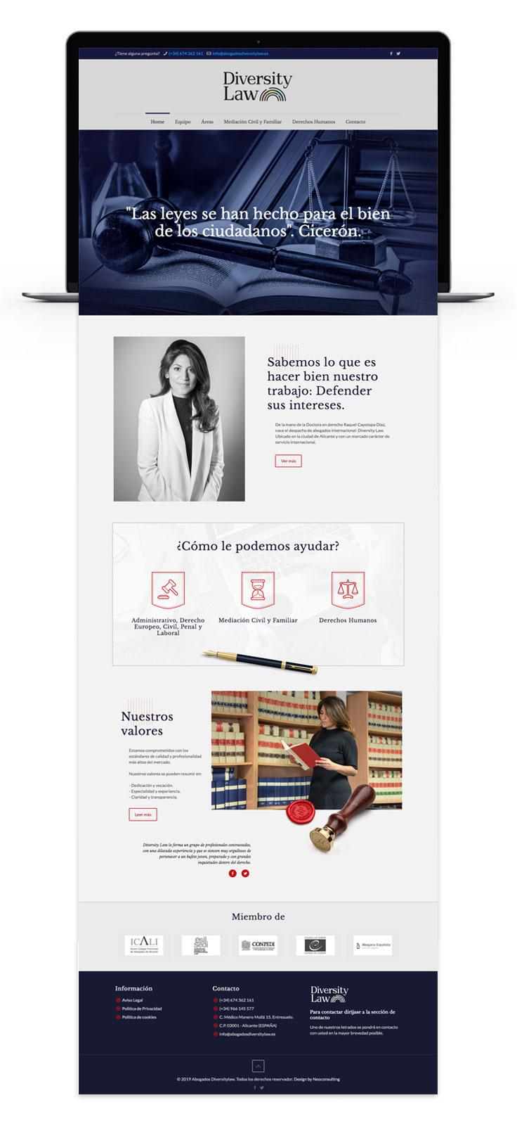 Agencia de comunicación en Alicante y trabajos web